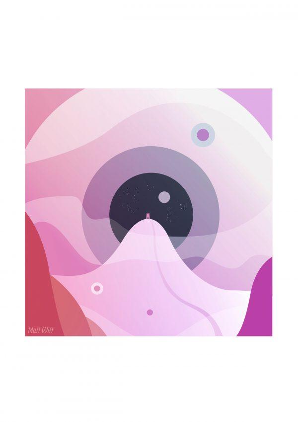 Coalesce - Art of Avalon - Glastonbury Tor Art - Matt Witt